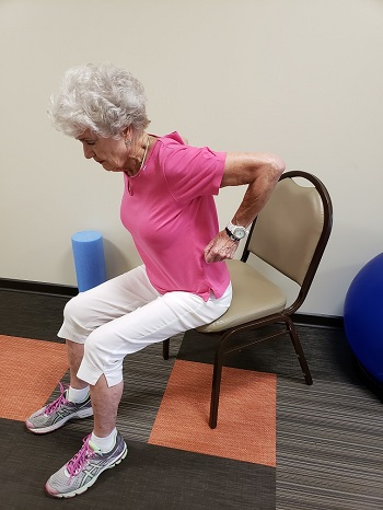 seated row senior exercise