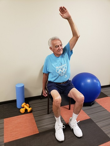 side to side stretch senior exercise