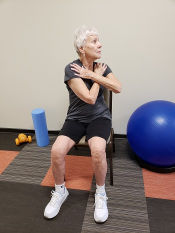torso rotation senior exercise