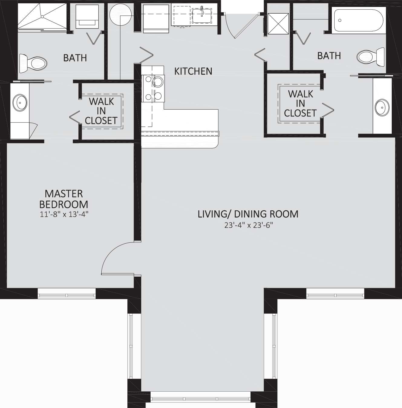 Liberty One Bedroom with Great Room Contemporary.png