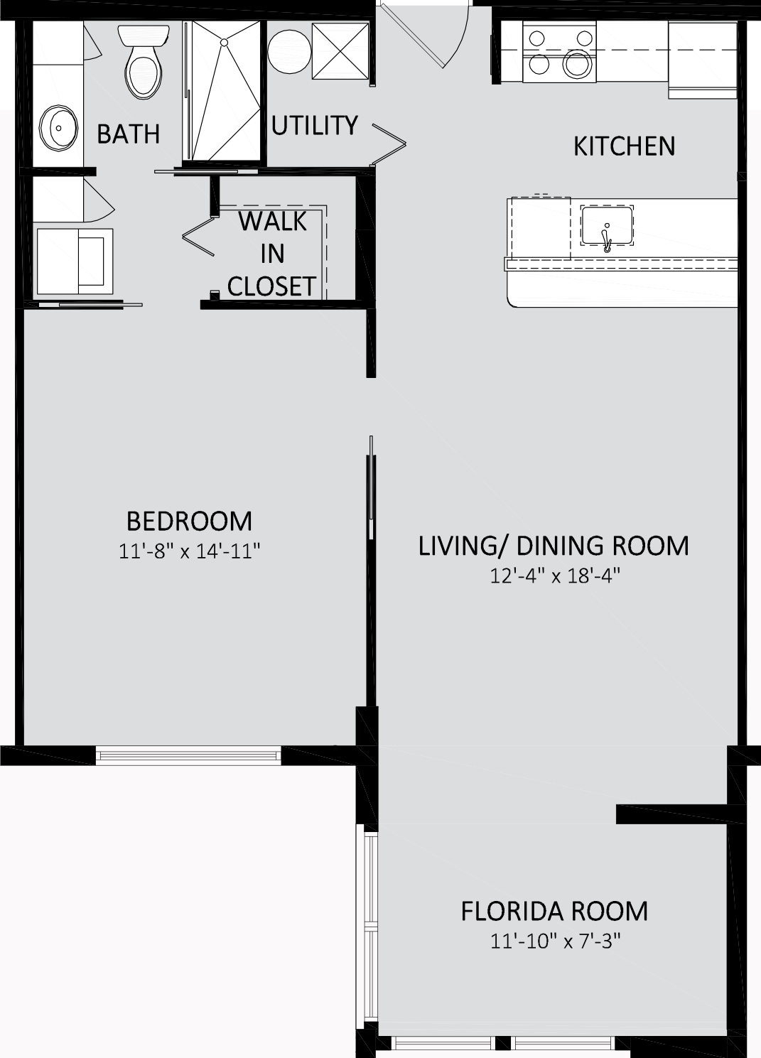 Coral Reef II Traditional One Bedroom A Building 719 Sq Ft.png