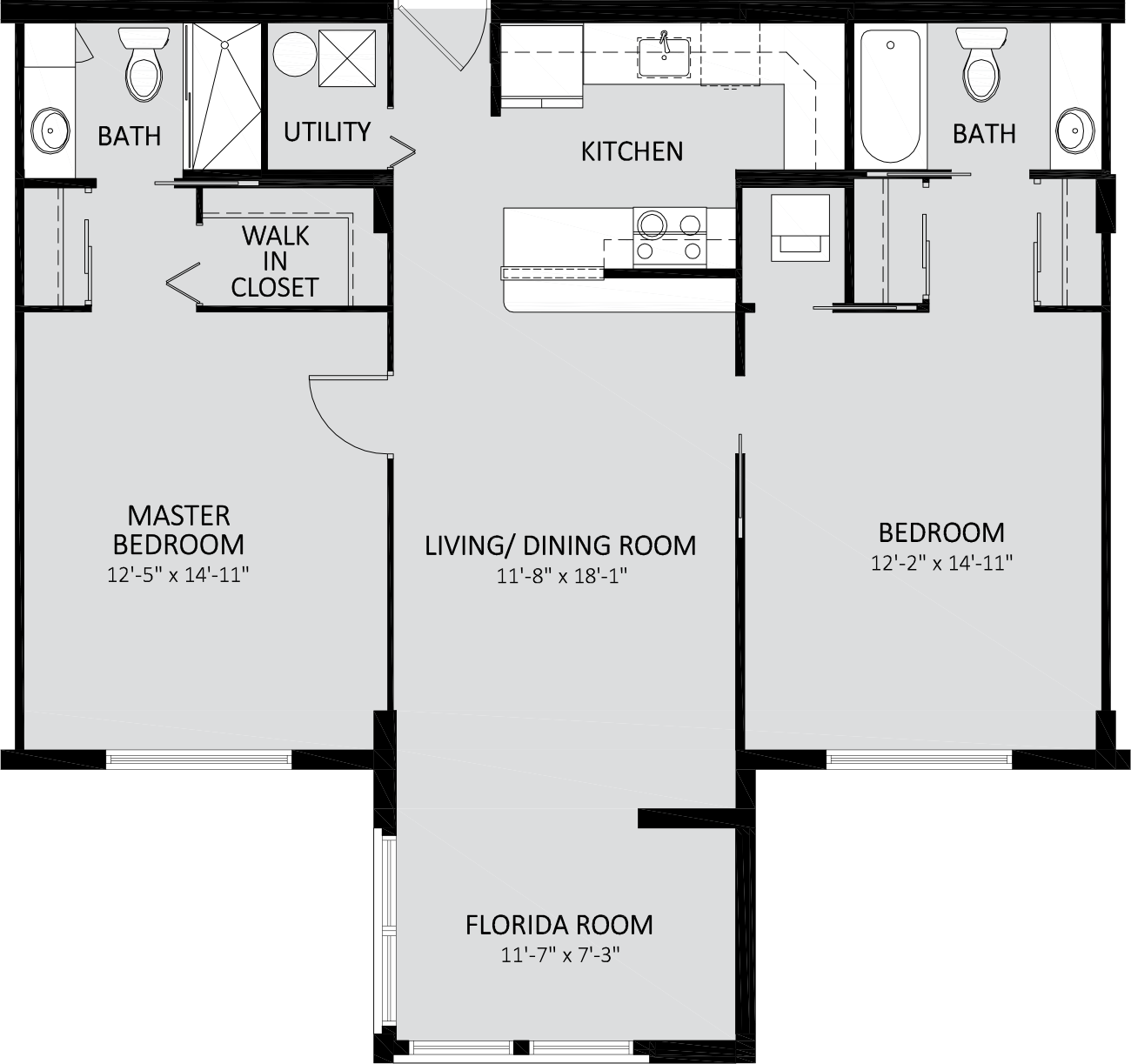 Ocean Breeze Traditional Two Bedroom A Building 1025 Sq Ft.png