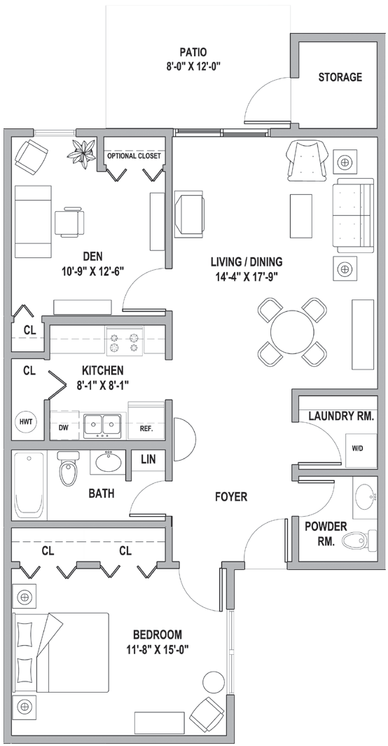 FH One Bedroom-Den Classic Cottage 1040 Sq Ft II.png
