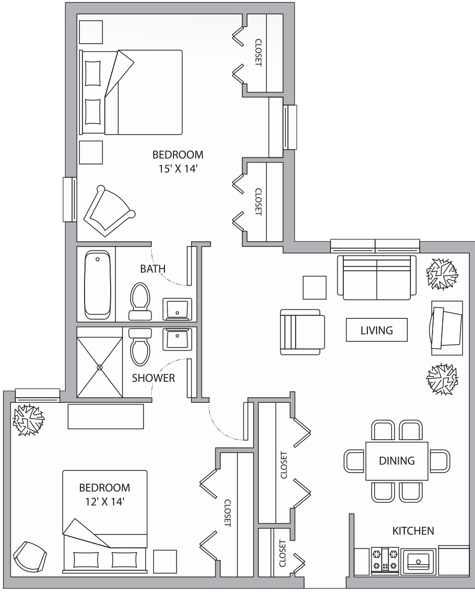 FH Aspen Two Bedroom 922 Sq Ft.png