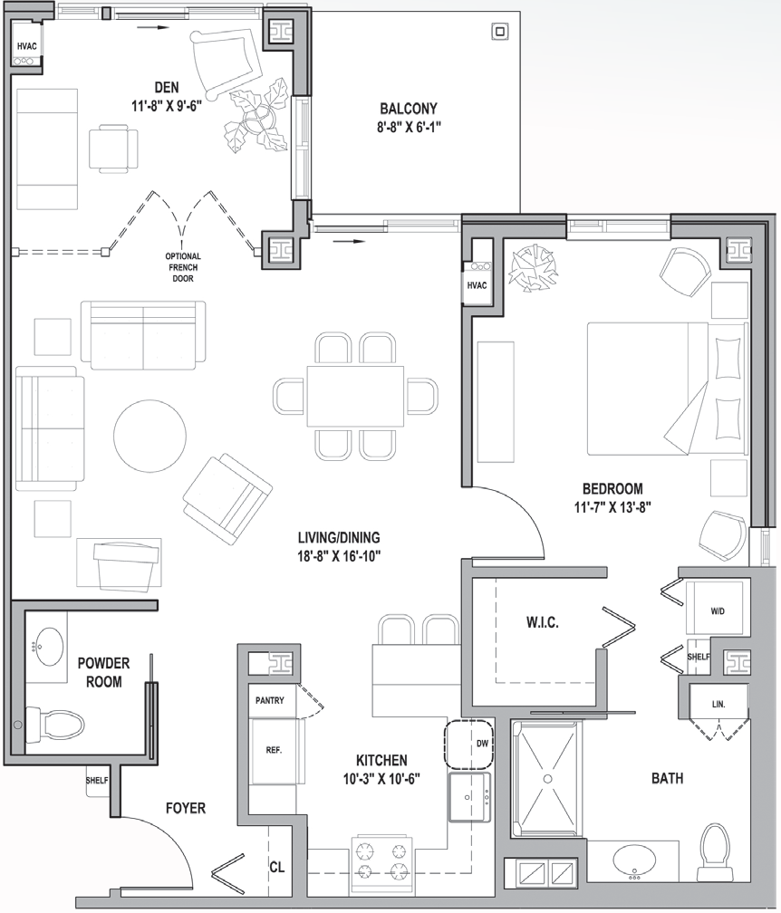 FH Harford Courtyard One Bedroom 976 Sq Ft.png
