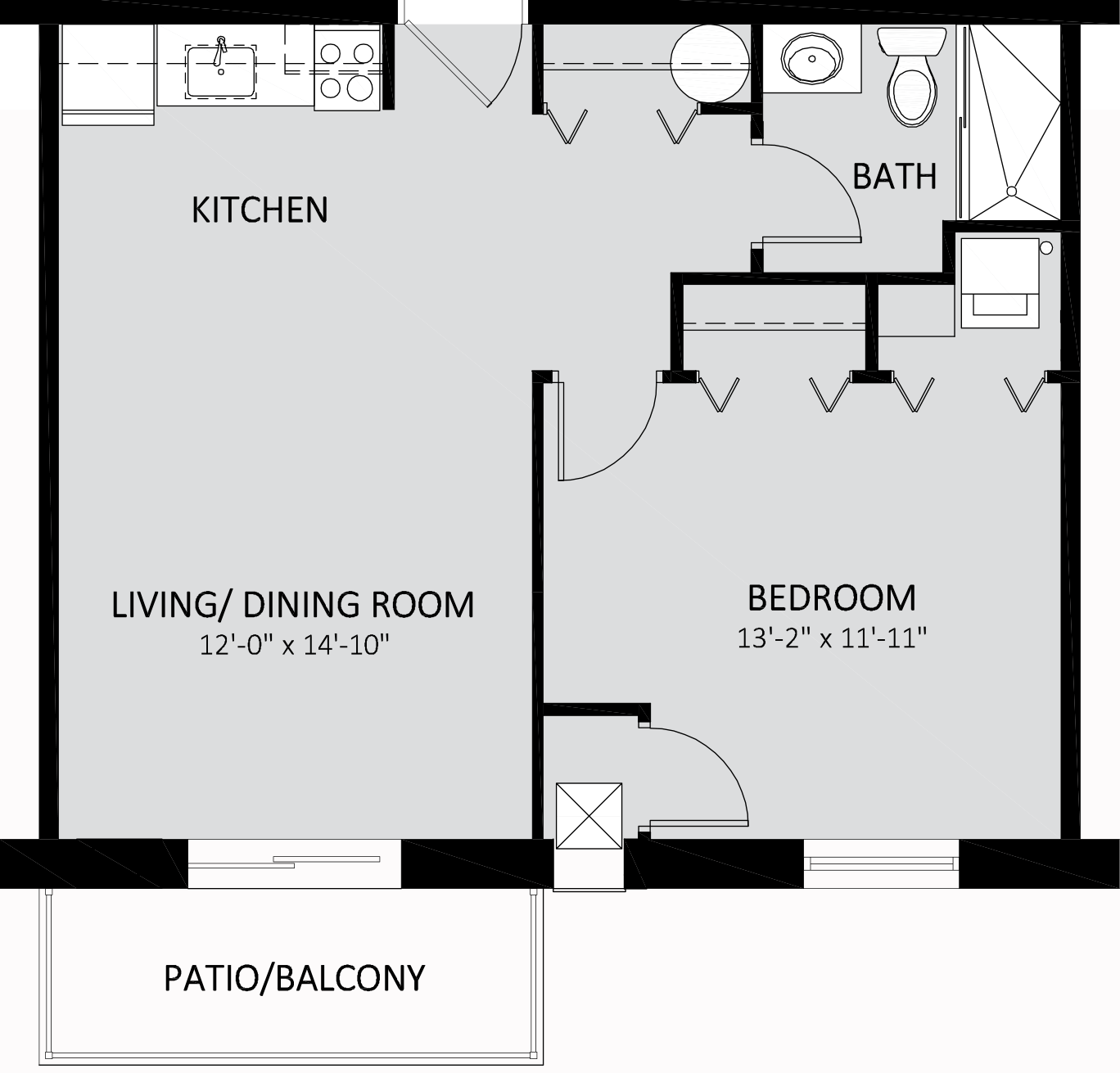 GE Freedom Traditional One Bedroom 529 Sq Ft.png
