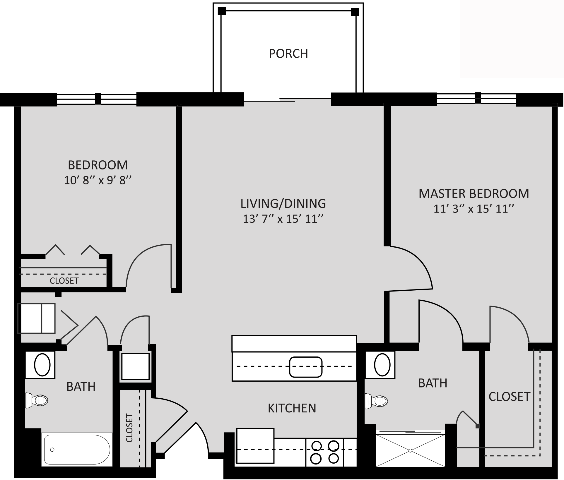 HP Corsica Two Bedroom 980 Sq Ft.png