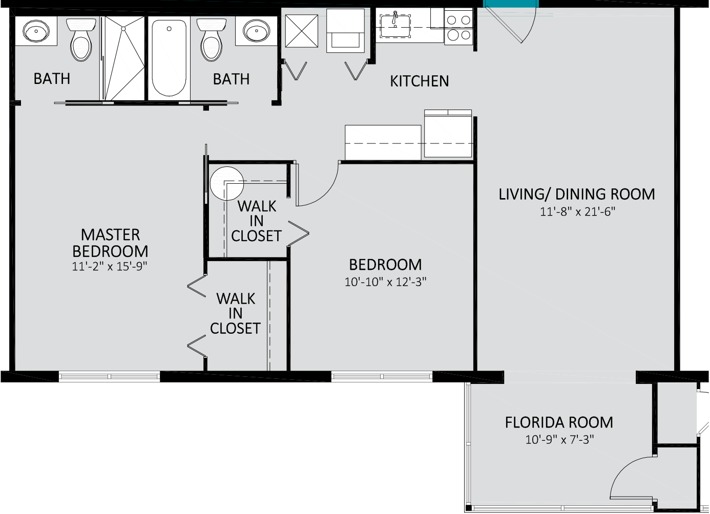 SAE Ocean Breeze ABCDE Traditional Two Bedroom 923 Sq Ft.png